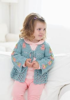 Toddlers cardigan freebie. Just stunning, lovely share, thanks so xox