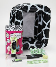 Take a look at this Pink Playin' Footsie Pedicure Set by Pamper Yourself Collection on #zulily today!