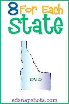 US Homeschool Geography study for Idaho