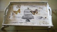 (1) Bandejas De Cama Con Patas Desayunos Decoradas Vintage - $ 360,00 en MercadoLibre