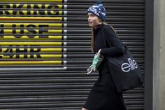 The Best London Fashion Week Street Style During Fall 2015 | StyleCaster