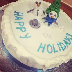 Littlemissimmyloves winter cake