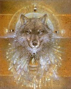 """Wolf Shield"" by Susan Seddon Boulet, 1988"