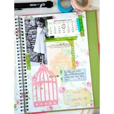 Shabby SMASH Pages Project by Vanessa Spencer