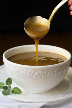 Delicious Make Ahead Gravy - thecafesucrefarine.com