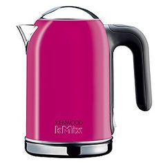 Kinda liking the hot pink Kenwood kettle as well.....