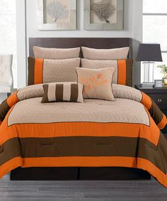 191a3a6bbbf Indulge in all the luxury a five-star hotel right at home with this sophisticated  bedding set. A contemporary color palette