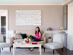 Family-Friendly Home Decorating Ideas: A hard-working mom gives HGTV Magazine a tour of her great-looking updated home.