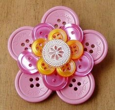 button crafts for adults | Crafting with buttons
