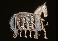 Trojan Horse, Lion Sculpture, Museum, Horses, Ink, Statue, Halloween, World, Foster The People