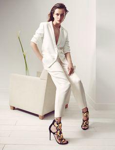 Giuseppe Zanotti Design FW14-15 AD Campaign: model Andreea Diaconu, photographer Karim Sadli, stylist Clare Richardson www.giuseppezanottidesign.com