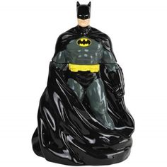 Westland Giftware Ceramic Cookie Jar, Batman Cape, Multicolor (632.415 IDR) ❤ liked on Polyvore featuring home, kitchen & dining, food storage containers, ceramic food storage containers, westland giftware, batman cookie jar, ceramic cookie jar and ceramic biscotti jars