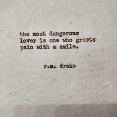 most dangerous lover