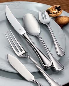 Improve your tabletop even more with #WMF USA Hotel\u0027s Mondial flatware collection & premiere wmf | cutlery . besteck | Pinterest | Wmf