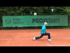 Tennis Fitness - Lunges For More Leg Strength!