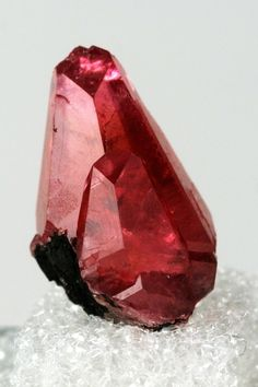 Rhodochrosite on Manganite matrix / N'Chwaning I Mine, South Africa  mw