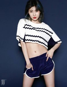 Sunmi shows 7 different ways to style a pair of shorts for 'W Korea' magazine | allkpop.com
