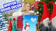 DIY ROOM DECOR! 10 DIY Projects for Winter & Christmas! Decorating ideas...
