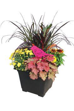 Outdoor Fall Planter