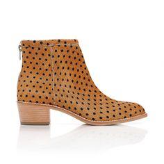 Felix stacked heel bootie by Loeffler Randall
