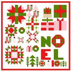 MBS Countdown to Christmas 2019 - Peppermint Park Quilt Setting Scrap Fabric Projects, Fabric Scraps, Quilting Projects, 24 Blocks, Quilt Blocks, The Diagram, Christmas Countdown, Christmas 2019, How To Finish A Quilt