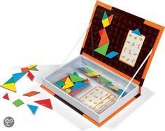 Great idea! Janod Magnetibook Tangram http://www.bol.com/nl/p/janod-magnetibook-tangram/1004004010488968/