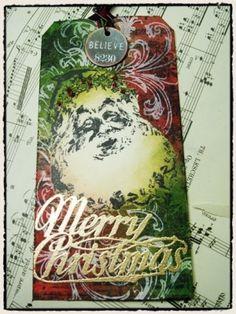 Scrapbook Ideas - Christmas Tags by hazel.boyer.5