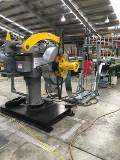 Honger Machine Double head decoiler machine exported New Zealand