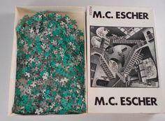 #MCEscher Relativity #Vintage #Puzzle 1000 Piece http://etsy.me/1coUxg5 #etsyfind #etsy #puzzles #art #holland #dutch #netherlands