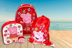 His & Her Children's Clothing| Serafini Amelia| Girls Travel Bags| Peppa Pig Luggage Set