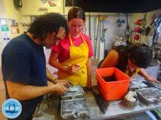 excursies op kreta workshop bronsgieten brons gieten zoals de oude grieken Heraklion, Olympus