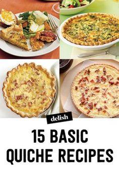 12 Easy Breakfast Quiche Recipes - How to Make a Quiche —Delish.com