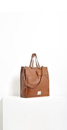 Leather handbag #bags
