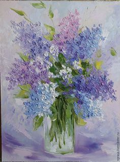 Watercolor Flowers Tutorial, Watercolor Paintings, Oil Painting Flowers, Painting & Drawing, Arte Floral, Acrylic Art, Flower Art, Canvas Art, Ideas