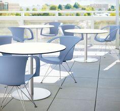 Davis Loop Outdoor with Veer Outdoor tables