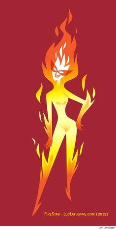 :) Firestar by Luc Latulippe Marvel Girls, Comics Girls, Marvel Art, Marvel Comics, Firestar Marvel, Frankfurt, The Fortress Of Solitude, Polaris Marvel, Phoenix Marvel