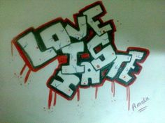 love is hate