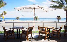 Steak 954 - Modern Beach View Restaurant in Fort Lauderdale Fort Lauderdale, Game Design, 2d, Steak, Miami, Restaurant, Patio, Beach, Outdoor Decor