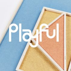 Build's brand identity for product design brand Plæy mirrors its playful and modular designs.