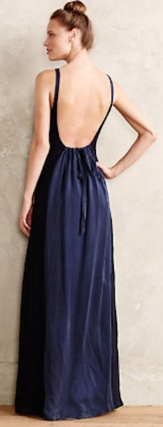 beautiful low back maxi dress http://rstyle.me/n/n9d49r9te