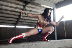 Wonder Woman cosplay by Margie Cox