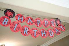 Spiderman Bug Birthday Party. $20.00, via Etsy.