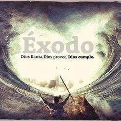 Èxodo 14:15 Entonces Jehová dijo a Moisés: ¿Por qué clamas a mí? Di a los hijos de Israel que marchen.  Tenemos que marchar, creyendo en que el obstaculo que se nos presenta en el camino hacia la tierra prometida Dios lo convertira en bendición para nuestras vidas. #obediencia