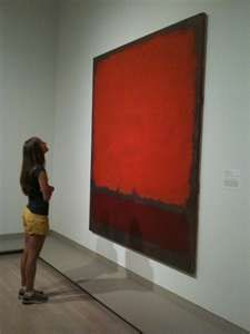 Rothko - have always liked his work, I'm not sure why