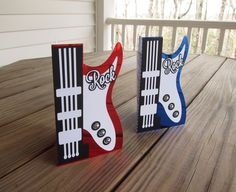 Guitar Rock Cards - Scrapbook.com