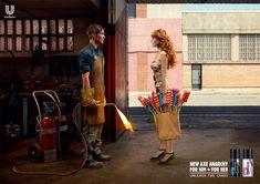 World's best print ads. Axe: Unleash the chaos.