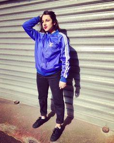 """Vintage  70s Blue Zip jacket """"Armée de l'air"""" Original de la boutique JoliParisRetro sur Etsy"""