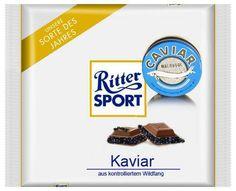 RITTER SPORT Fake Schokolade Kaviar