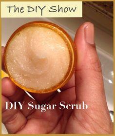 DIY Sugar Scrub & Polish