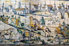 Museu Nacional do Azulejo old tile